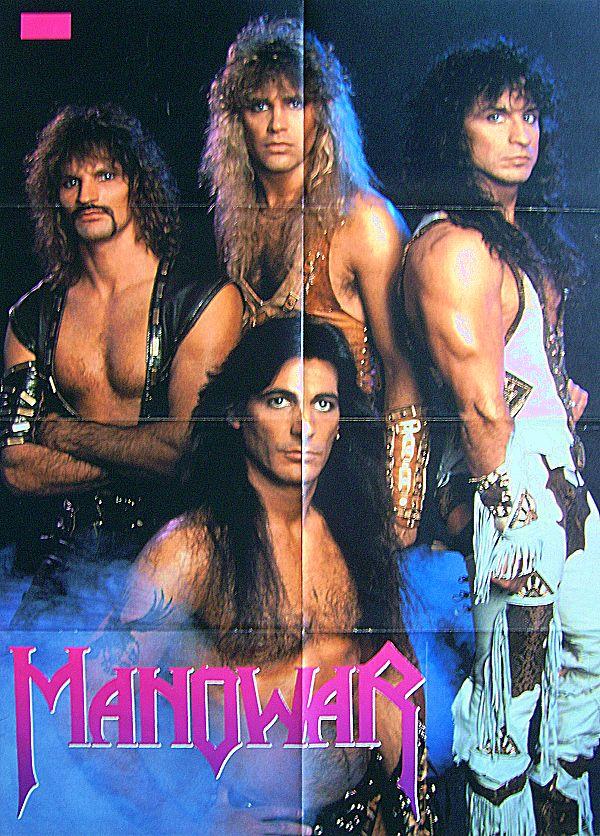 Manowar (Band Poster) - Sir Laws Manowar Collection