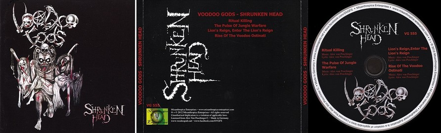 Voodoo Gods (CD) - Sir Laws Manowar Collection
