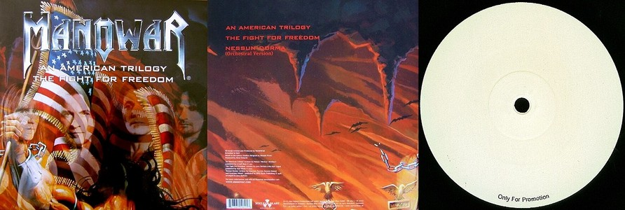 Manowar - An American Trilogy / The Fight For Freedom (Original Vinyl)