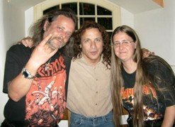 Meeting with Eric Adams, Manowar