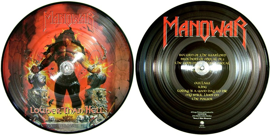 Manowar - Louder Than Hell (Bootleg Picture Vinyl)