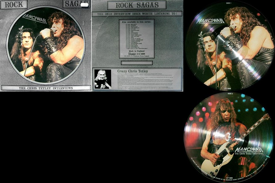 Manowar - The Chris Tetley Interviews (Original Picture Vinyl)