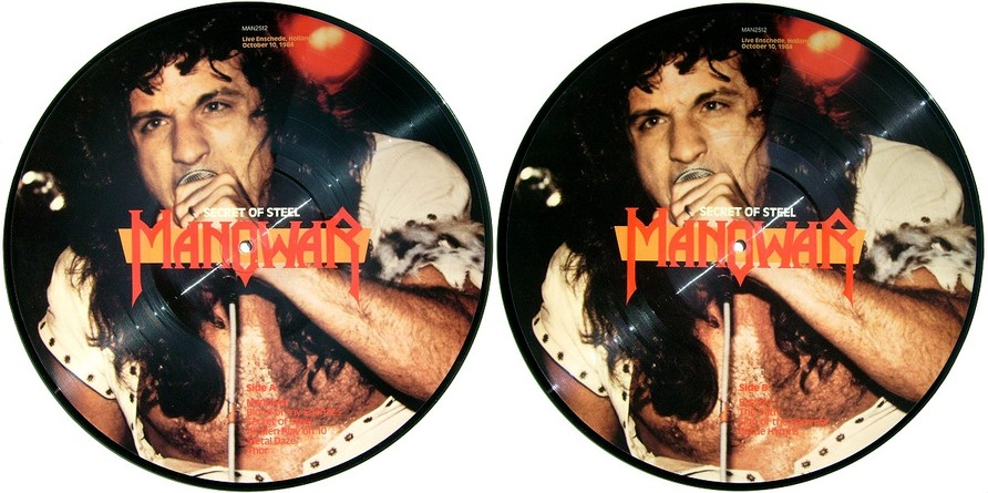 Manowar - Secret Of Steel (Bootleg Picture Vinyl)